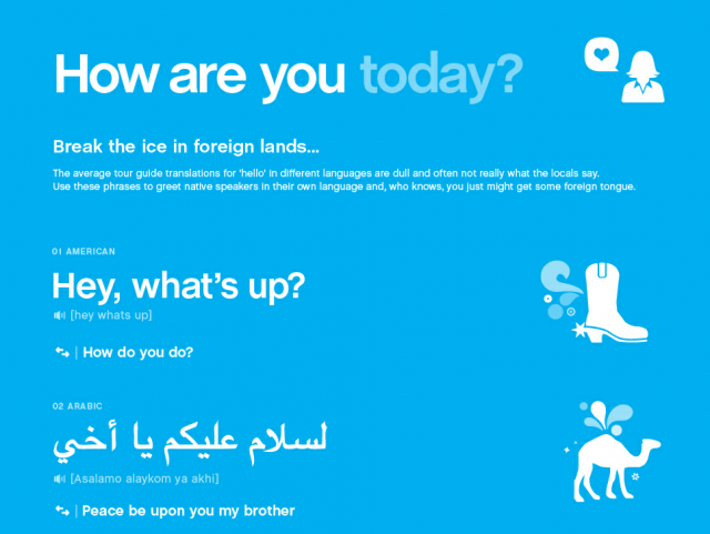 Folium: How Are You Today? via Visual.ly