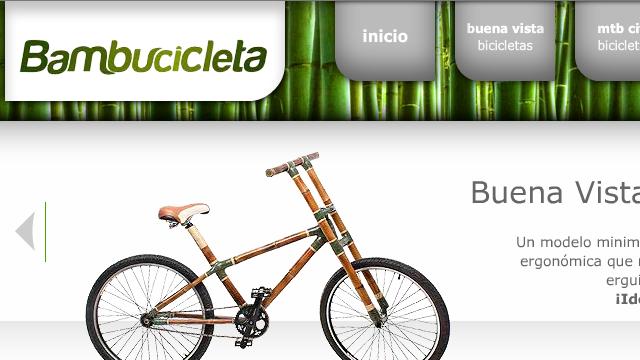 Folium: Bambucicleta - Bicicletas de Bambú
