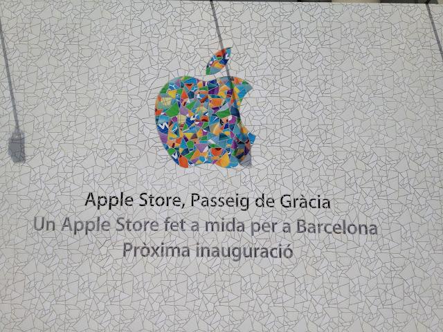 Folium: The Barcelona Apple Store and Antoní Gaudí via TUAW
