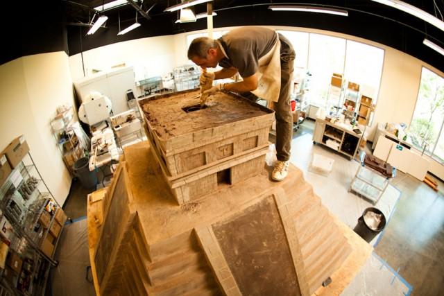 Folium: A Gigantic Chocolate Mayan Temple via Gizmodo.com