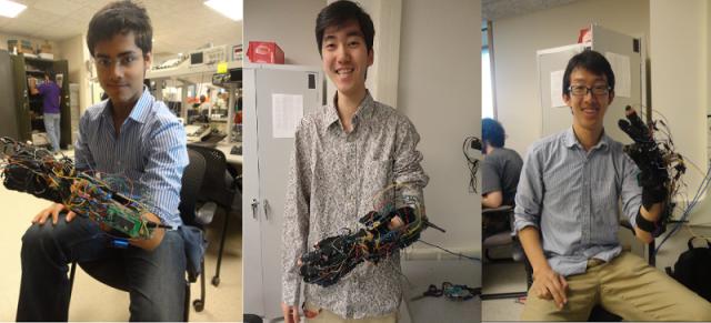 Folium: Wearable, Robotic, Sign Language Translator via Engadget