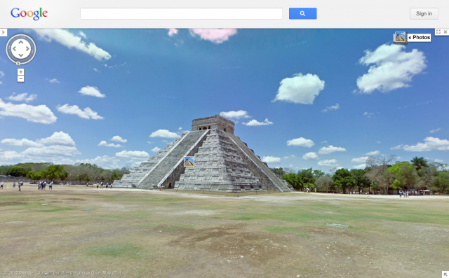 Folium: Google expands Google Street view to Brazil and Mexican Ruins via Engadget