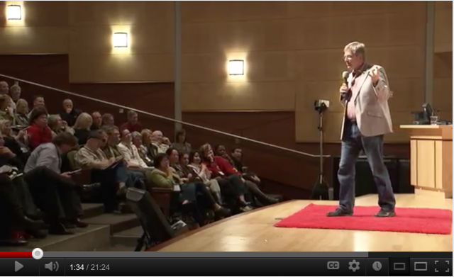 Folium: Rick Steves - The Value of Travel via YouTube / TED