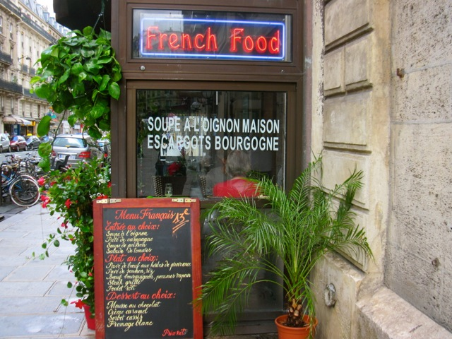 French Vocabulary: Cafés and Restaurants