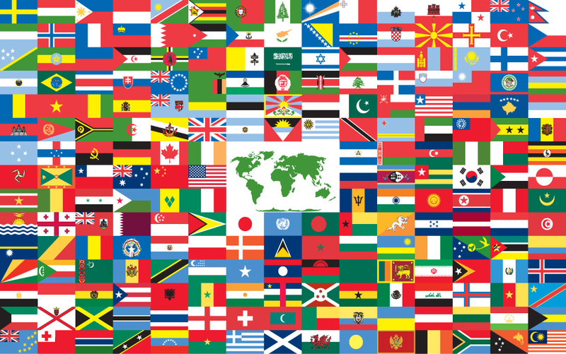 Folium: Understanding The Design Behind 5 Of The World's Most Recognizable National Flags via Directory Journal