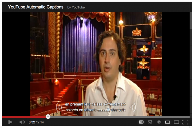 Folium: YouTube's Automatic Captioning Adds Six Additional Languages via Engadget