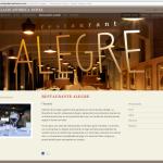 Hotel Palacio Astoreca: Restaurante Alegre