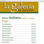 La Galería, Havana: Pizzas