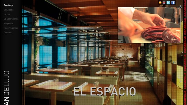 Pan de Lujo: Homepage