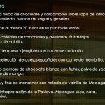 Pan de Lujo: Postres