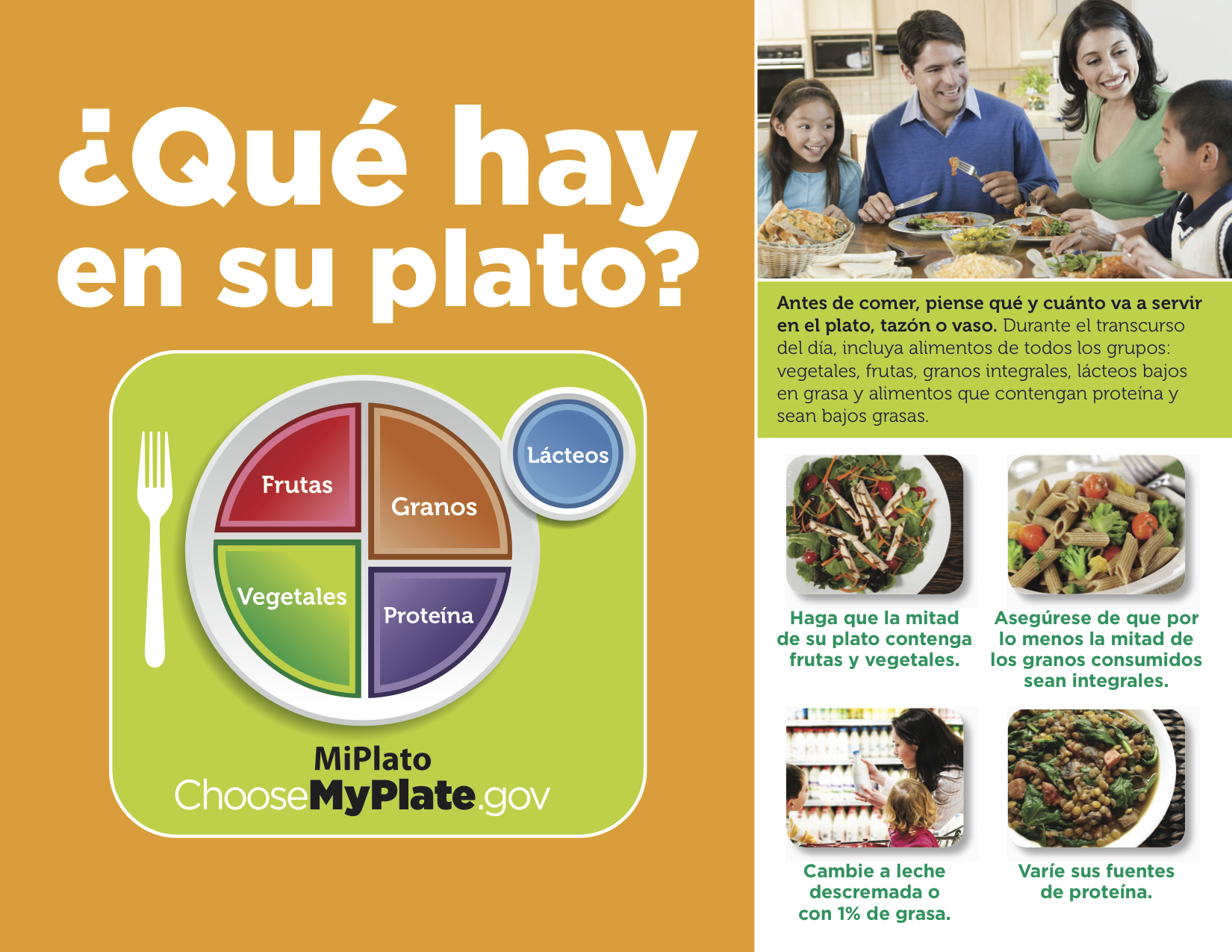 spanish reading selections my plate mi plato the leaf project. Black Bedroom Furniture Sets. Home Design Ideas