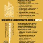 Derechos de los Inmigrantes