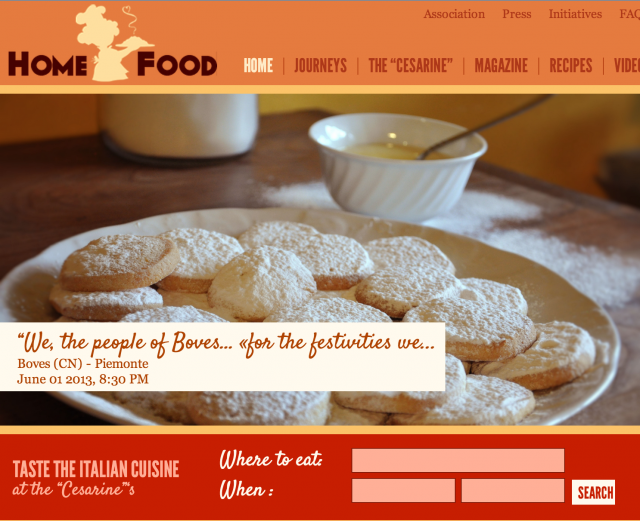 Folium: Home Is Where The Food Is via HomeFood.it