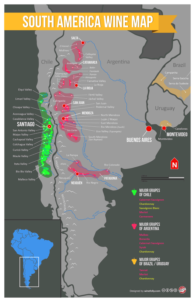 Folium: Wine in South America Is Older Than You Think via Winefolly