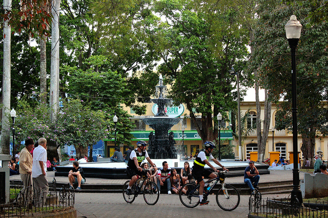 Aero: Katie Heubusch - Costa Rica 2014 - City Life