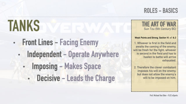 Overwatch - Overanalyzed - Roles and Functions - Tank Functions