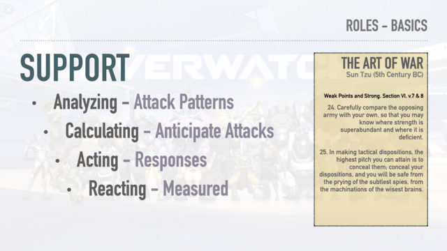 Overwatch - Overanalyzed - Roles and Functions - Support Roles