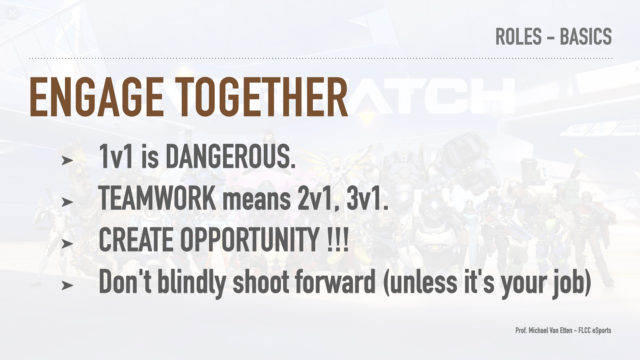 Overwatch - Overanalyzed - Roles and Functions - Engagement