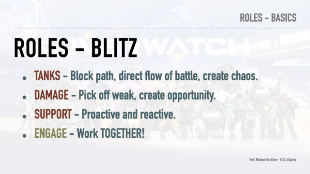 Overwatch - Overanalyzed - Roles and Functions - Review Blitz