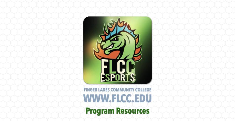 FLCC eSports - Program Resources