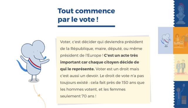 French Reading Selections: C'est Quoi la République?