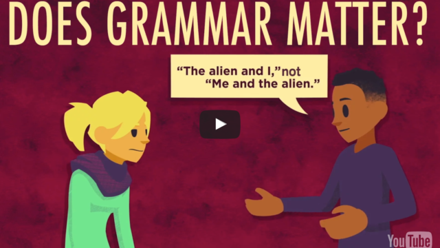 Folium: Does Grammar Matter via TED