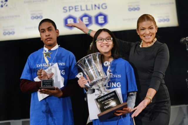We need a Spelling-Bee Reality Show!