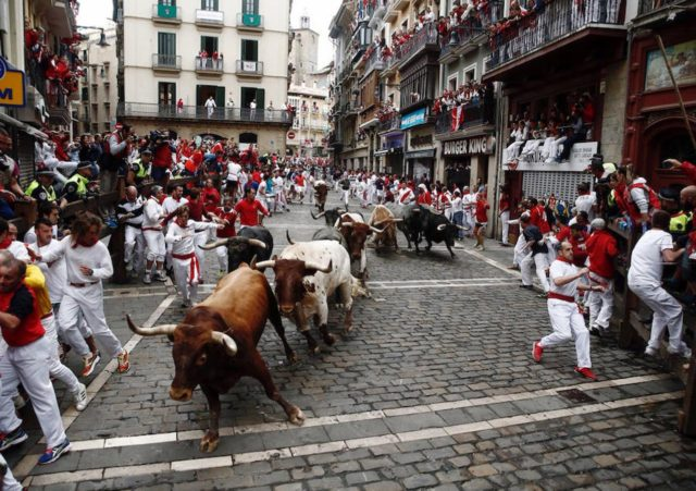 Spanish Reading Selections: La Fiesta de San Fermín, Pamplona