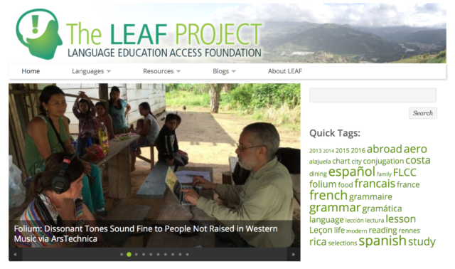 Instructional Resources: The LEAF Project Guide