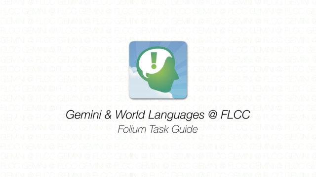 Gemini - Folium Task Guide
