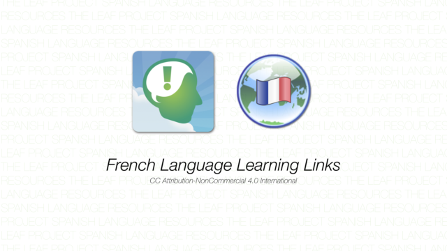 French Language Learning Links