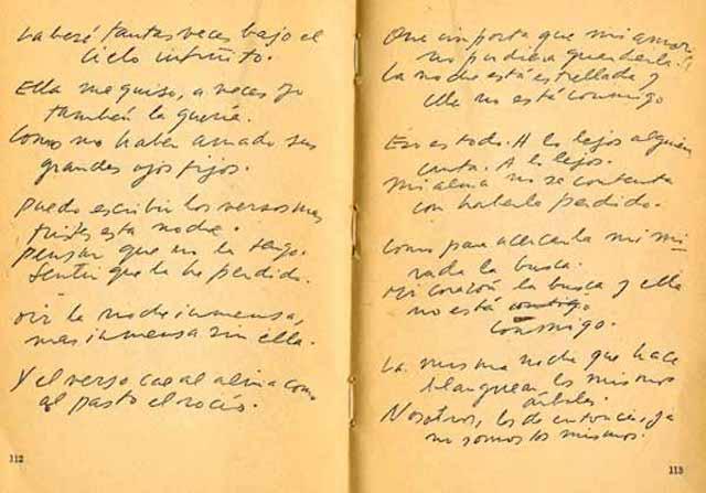 Spanish Reading Selections: Neruda - Poema XX