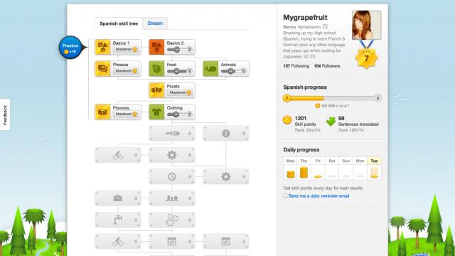 Folium: Duolingo, Translate the Internet!