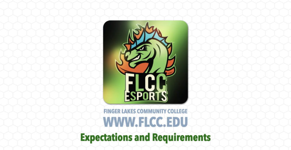 FLCC eSports - Expectations and Requirements