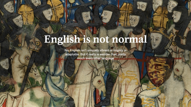 Folium: English Is Not Normal via Aeon