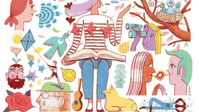 Folium: The Glossary of Happiness via NewYorker